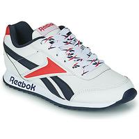 Shoes Children Low top trainers Reebok Classic REEBOK ROYAL CLJOG 2 White / Marine / Red