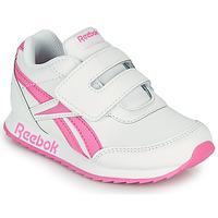Shoes Girl Low top trainers Reebok Classic REEBOK ROYAL CLJOG 2 KC White / Pink