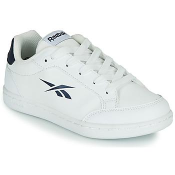 Shoes Children Low top trainers Reebok Classic REEBOK ROYAL VECTOR SMASH White / Blue