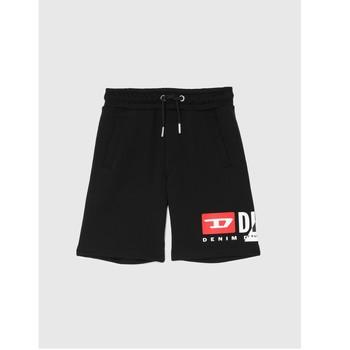 Clothing Boy Shorts / Bermudas Diesel PSHORTCUTY Black