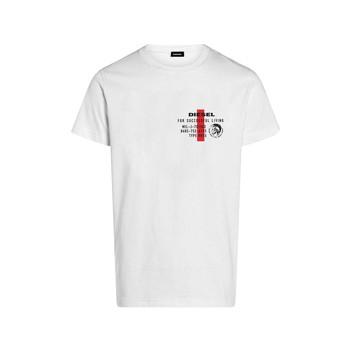 Clothing Boy Short-sleeved t-shirts Diesel TDIEGOS White