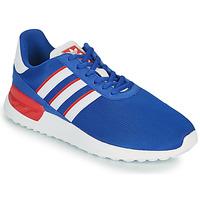 Shoes Children Low top trainers adidas Originals LA TRAINER LITE J Blue / White