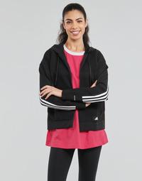 Clothing Women Sweaters adidas Performance W Knit V Hoodie Black
