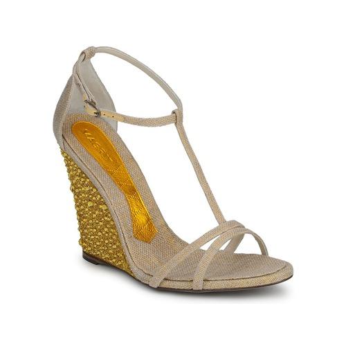 Shoes Women Sandals Magrit JOAQUINA Beige / Gold