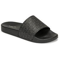 Shoes Men Sliders MICHAEL Michael Kors JAKE SLIDE Black