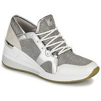 Shoes Women Low top trainers MICHAEL Michael Kors LIV TRAINER Silver