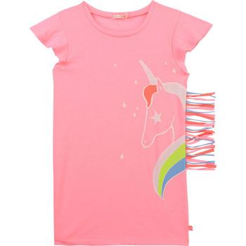 Clothing Girl Short Dresses Billieblush / Billybandit U12625-462 Pink