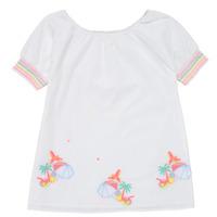 Clothing Girl Short Dresses Billieblush / Billybandit U12657-10B White
