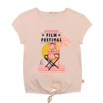 Clothing Girl Short-sleeved t-shirts Billieblush / Billybandit U15852-44F Pink