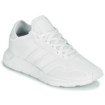 Shoes Children Low top trainers adidas Originals SWIFT RUN X J White