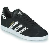 Shoes Women Low top trainers adidas Originals GAZELLE W Black / White