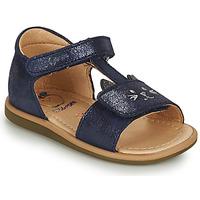 Shoes Girl Sandals Shoo Pom TITY MIAOU Blue