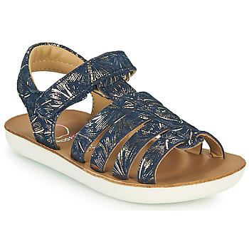 Shoes Girl Sandals Shoo Pom GOA SPART Blue