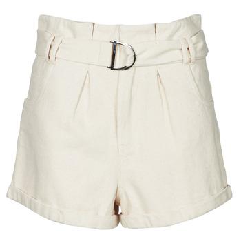 Clothing Women Shorts / Bermudas Betty London ODILE Beige