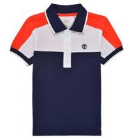 Clothing Boy Short-sleeved polo shirts Timberland MAMMA Multicolour