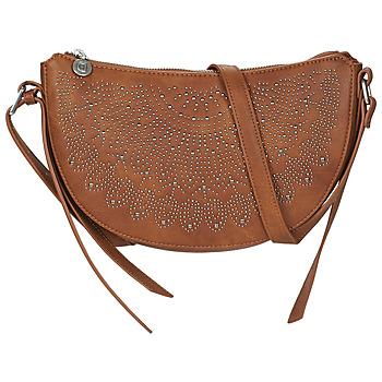 Bags Women Small shoulder bags Desigual BOLS_TACHAS KIAMA MINI Brown