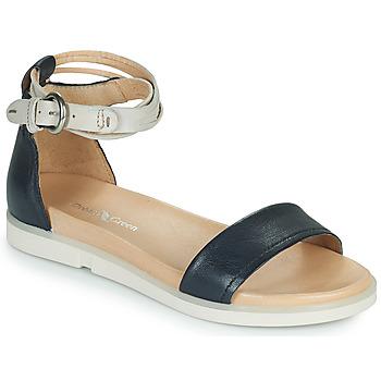 Shoes Women Sandals Dream in Green IRVANI Blue