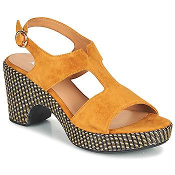 Shoes Women Sandals Adige ROMA V7 UNER SAFRAN Brown