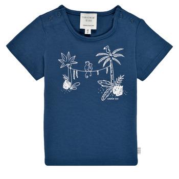 Clothing Boy Short-sleeved t-shirts Carrément Beau Y95274-827 Marine