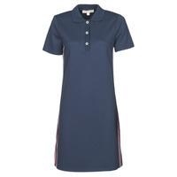 Clothing Women Short Dresses MICHAEL Michael Kors SS LOGO TAPE POLO DRS Marine