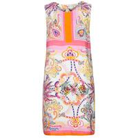 Clothing Women Short Dresses Derhy SEOUL Pink / Multicolour