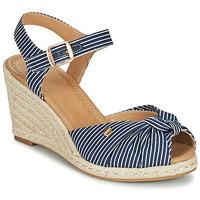 Shoes Women Sandals Esprit ELIN Blue / White