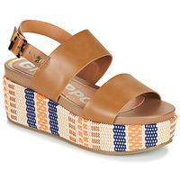 Shoes Women Sandals Gioseppo COWLEY Cognac