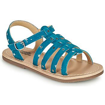 Shoes Girl Sandals Citrouille et Compagnie MAYANA Blue