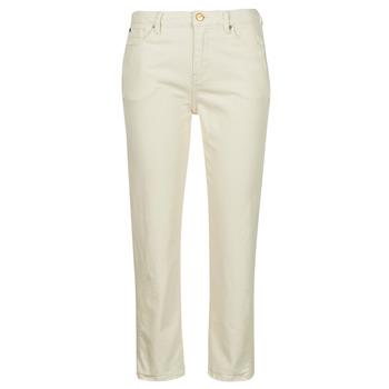 Clothing Women Slim jeans Pepe jeans DION 7/8 Ecru / Wi5