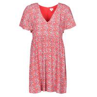 Clothing Women Short Dresses Pepe jeans CAROLINA Red / Blue