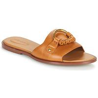Shoes Women Mules See by Chloé HANA SB3305 Cognac