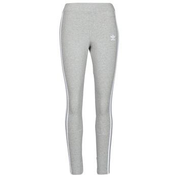 Clothing Women Leggings adidas Originals 3 STRIPES TIGHT Grey