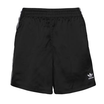 Clothing Women Shorts / Bermudas adidas Originals SATIN SHORTS Black