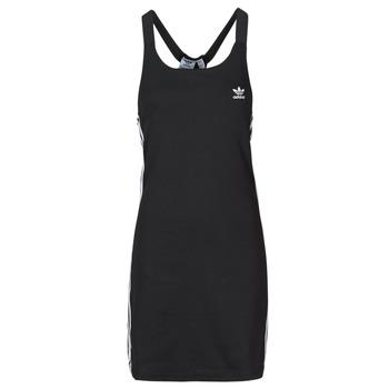 Clothing Women Short Dresses adidas Originals RACER B DRESS Black