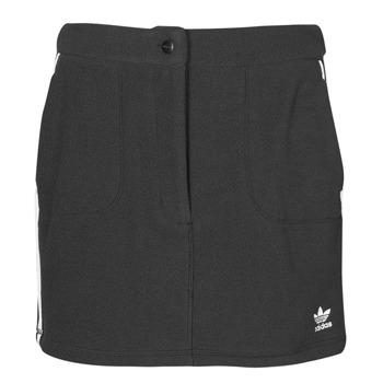Clothing Women Skirts adidas Originals FLEECE SKIRT Black