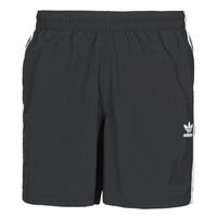 Clothing Men Trunks / Swim shorts adidas Originals 3-STRIPE SWIMS Black