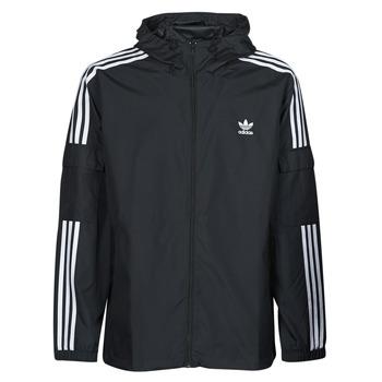 Clothing Men Macs adidas Originals 3-STRIPES WB FZ Black