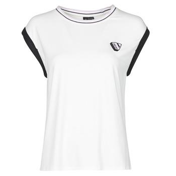 Clothing Women Tops / Sleeveless T-shirts Volcom SIIYA KNIT TOP White