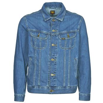 Clothing Men Denim jackets Lee LEE RIDER JACKET Blue