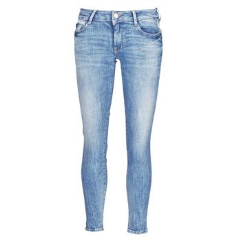 Clothing Women Slim jeans Le Temps des Cerises PULP SLIM 7/8 Blue