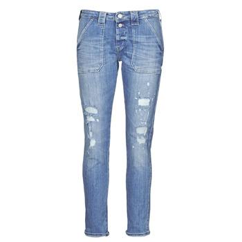 Clothing Women Boyfriend jeans Le Temps des Cerises CARA Blue