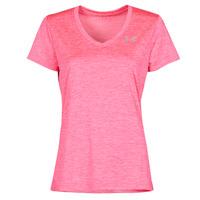 Clothing Women Short-sleeved t-shirts Under Armour TECH SSV Pink