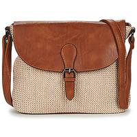 Bags Women Shoulder bags Casual Attitude OMY Beige / Brown