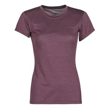 Clothing Women Short-sleeved t-shirts adidas Performance W Tivid Tee Purple