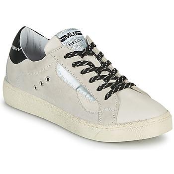 Shoes Women Low top trainers Meline CAR139 Beige / Black