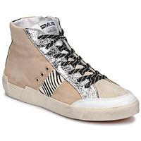 Shoes Women Low top trainers Meline NK1384 Beige / Zebra