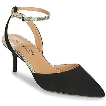 Shoes Women Heels JB Martin TWISTO Black / White