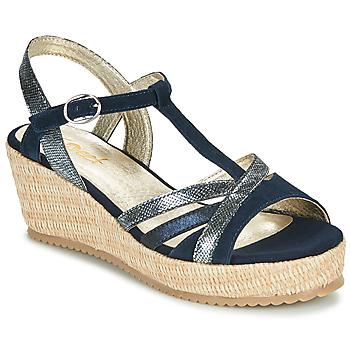 Shoes Women Sandals Sweet ESNOU Marine