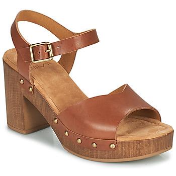 Shoes Women Sandals Unisa TACO Camel
