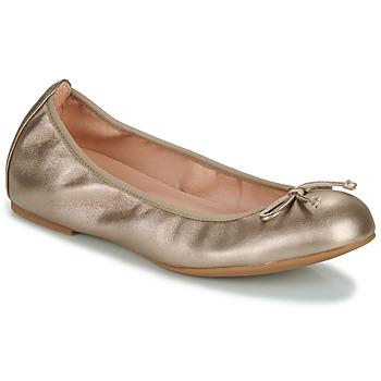 Shoes Women Flat shoes Unisa ACOR Champagne